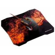 COMBO MOUSE E MOUSEPAD GAMER  MULTILASER MO256