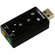 Placa de Som USB