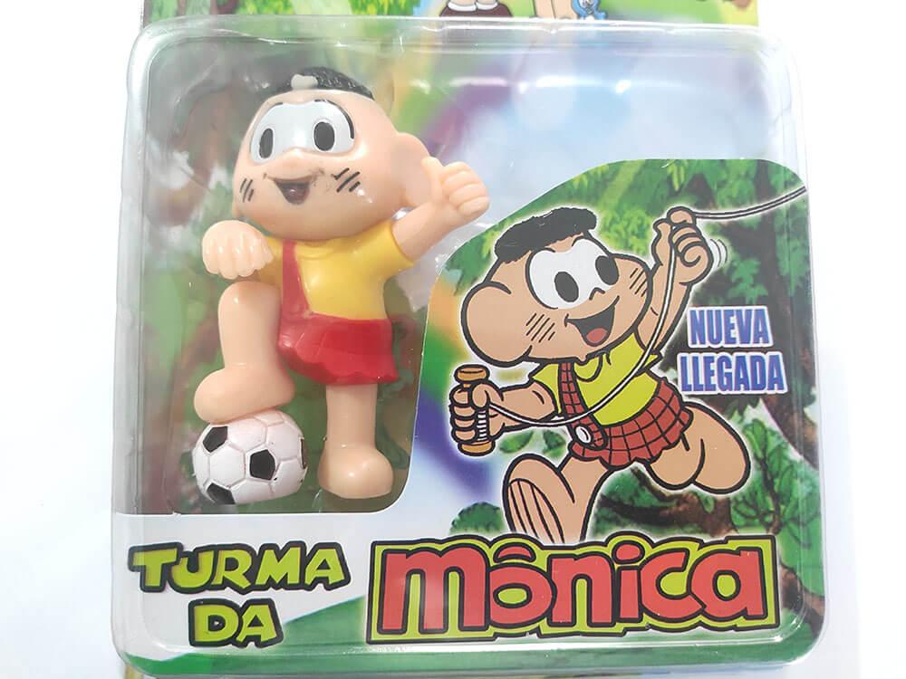 BONECOS TURMA DA MÔNICA CASCÃO CARTELADO 88326