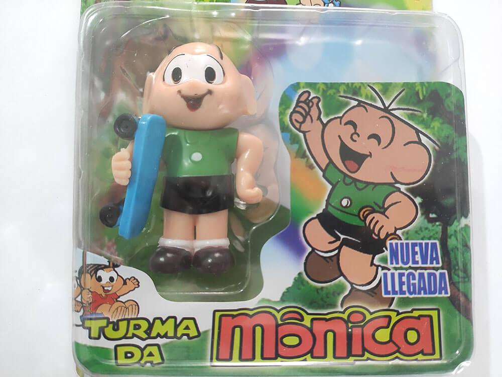 BONECOS TURMA DA MÔNICA CEBOLINHA CARTELADO 88326