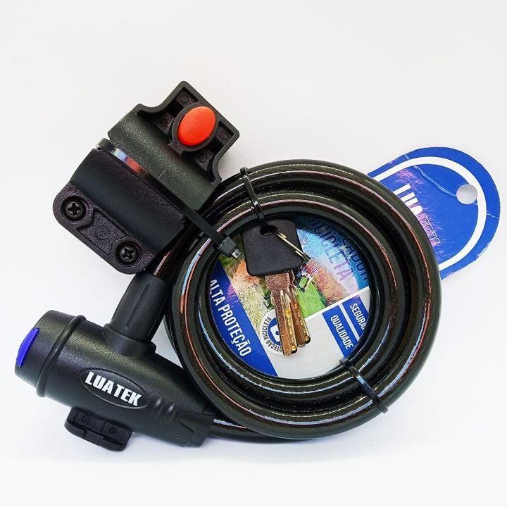 Cadeado para Bicicleta com Chave LK-BL04 Luatek