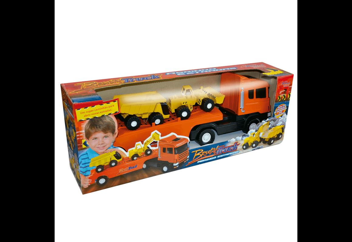 Caminhão Brutal Truck Apolo Brinquedos 590