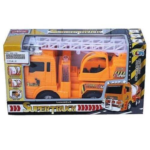Caminhão SuperTruck com Led e Som 175A-2