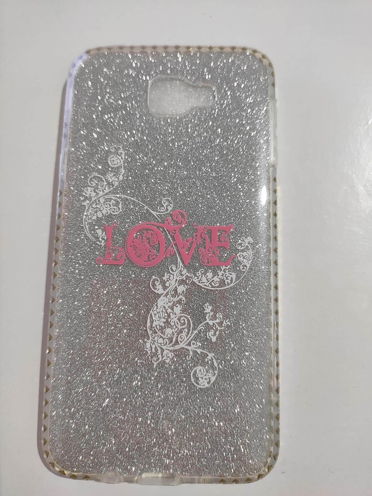 Capa Celular Samsung J5 Prime com Glitter Inova