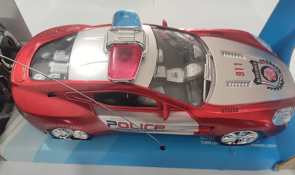CARRO CONTROLE REMOTO POLICE CAR