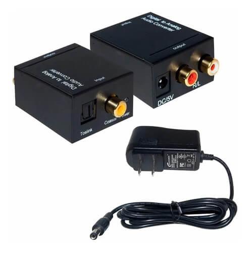 Conversor Áudio Digital Para Analógico Rca WU-001
