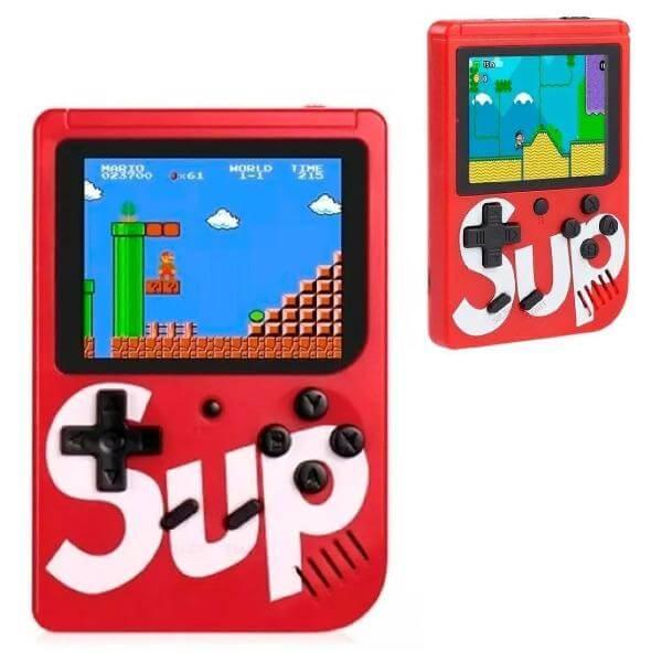 GAME BOX PORTÁTIL SUP COM 400 JOGOS WU-001A