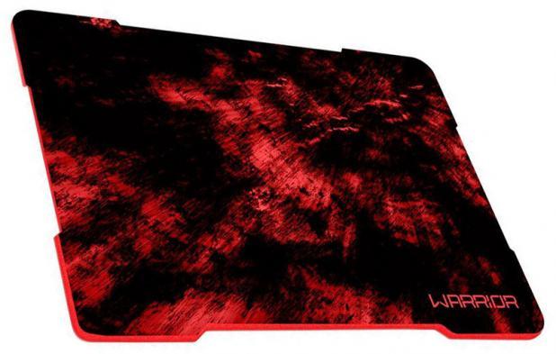 Mouse Pad Warrior AC286 Multilaser Vermelho