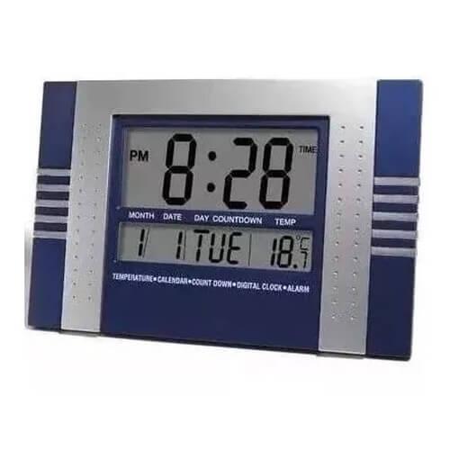 Relógio de Mesa Digital LE-8117 Lelong