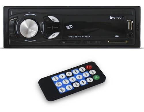 Som Automotivo Bluetooth E-Tech