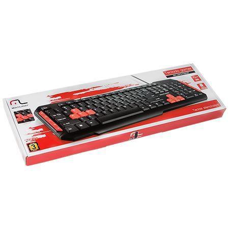 Teclado gamer red keys USB TC160