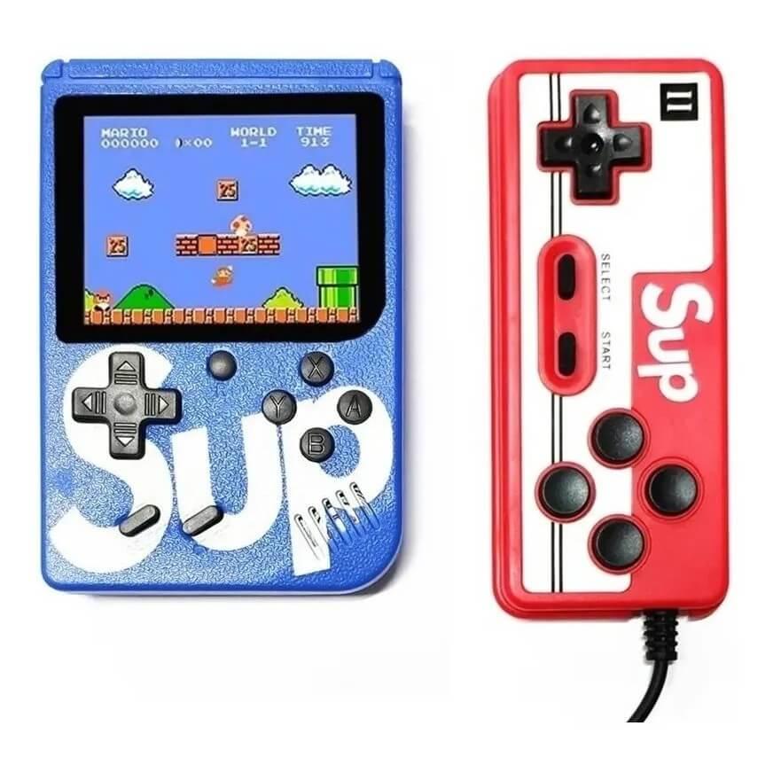 Vídeo Game YXJ-02 Box Retro Super Mini 400 Jogos Portátil
