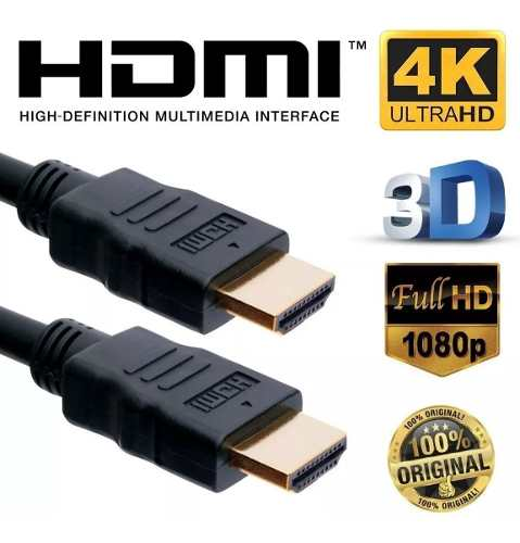 Cabo HDMI 2.0 3D 4K Ultra HD 10 Metros IPlus