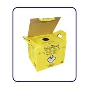 Coletores de Perfuro 13L(Amarelo)