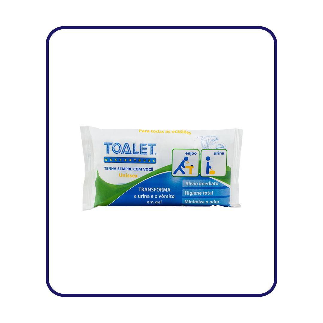 KIT Toalet Descartavel ZP6 + 1 Suporte