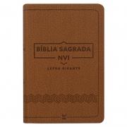 Bíblia Sagrada | NVI | Capa Luxo| Marrom