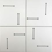 AZULEJO RISCO E PONTO - Coleção Designer Ronald Sasson