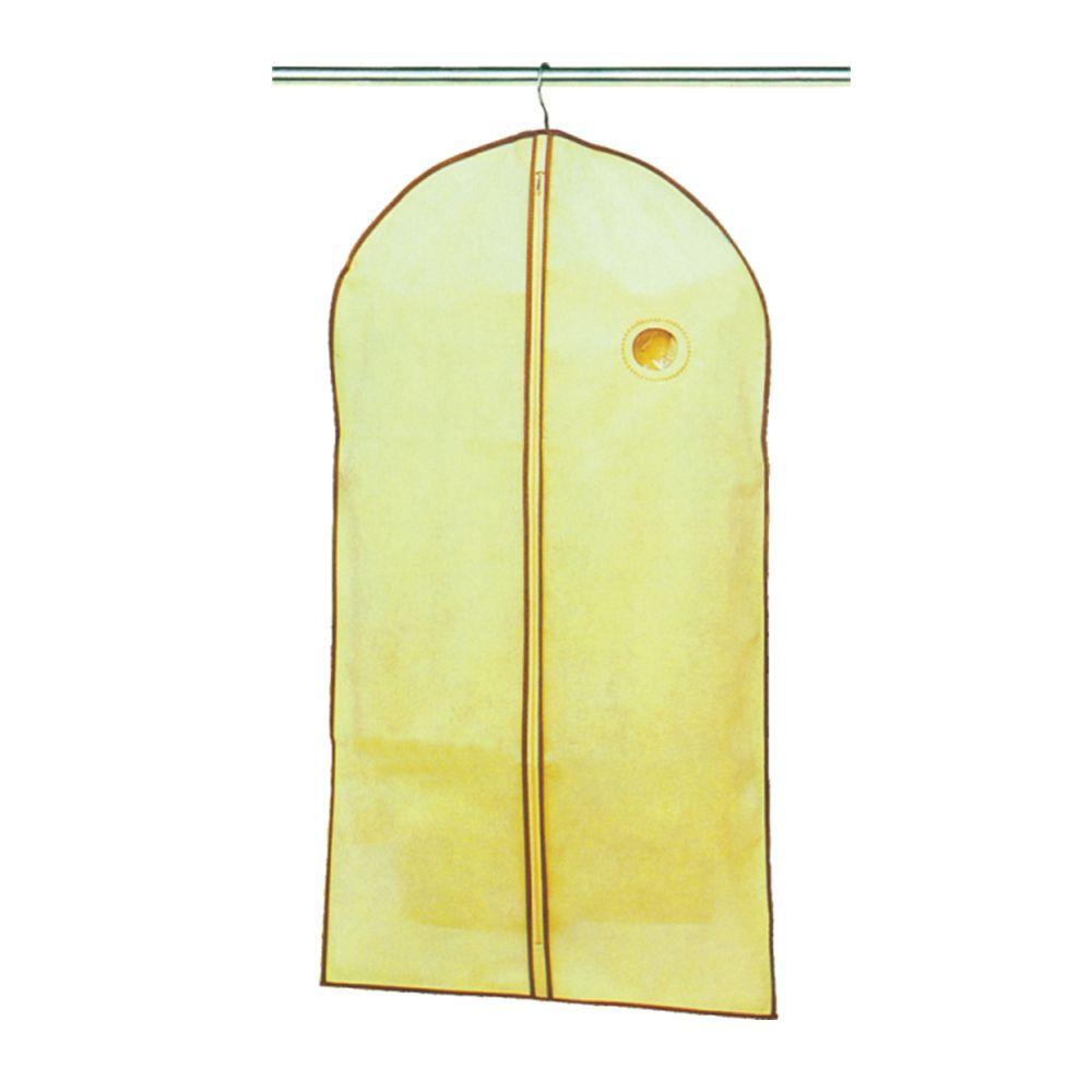 5 Capas Protetora de Roupas Em Tnt proteção transporte cabide 60x137cm Ke Home 5957