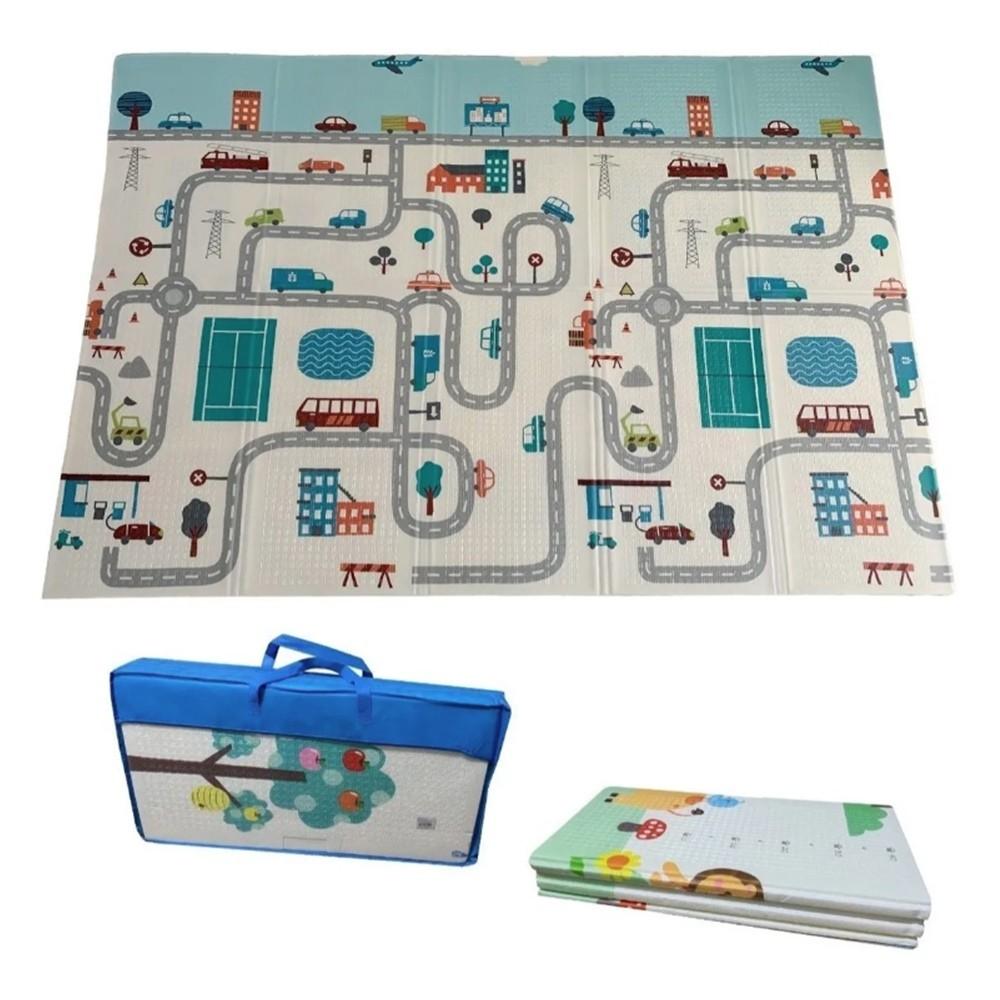 Tapete Atividades Infantil Luxo grosso com Bolsa 1,5x2,0m Isolante Térmico IM43008