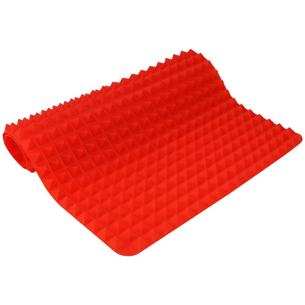 Tapete De Silicone Culinário Para Forno Micro-ondas Lava-louça 39x26cm AM-2374