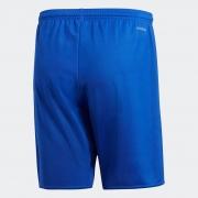 Calção De Futebol Adidas Parma Liso Azul