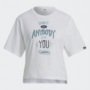 Camiseta Cropped Adidas Dont Stop Feminina - Original