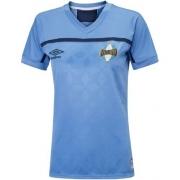 Camiseta Grêmio Feminina Oficial 3 Celeste Torcedora