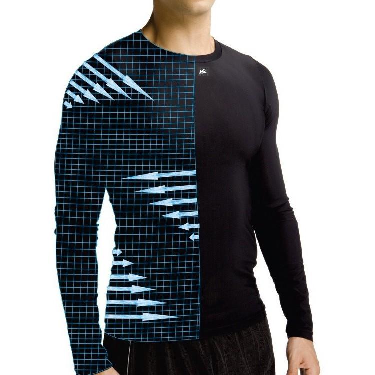 Camisa De Alta Compressão Kanxa Térmica Uv