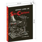Antigo livro de São Cipriano, o Gigante e verdadeiro Capa de Aço