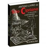 Ebook do Livro - Antigo livro de São Cipriano, o Gigante e verdadeiro Capa de Aço