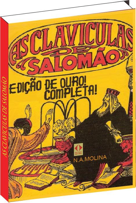 Livro As Claviculas de Salomão  - Livropostal Editora