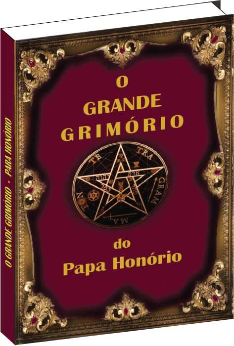 Livro O Grande Grimório do Papa Honório  - Livropostal Editora