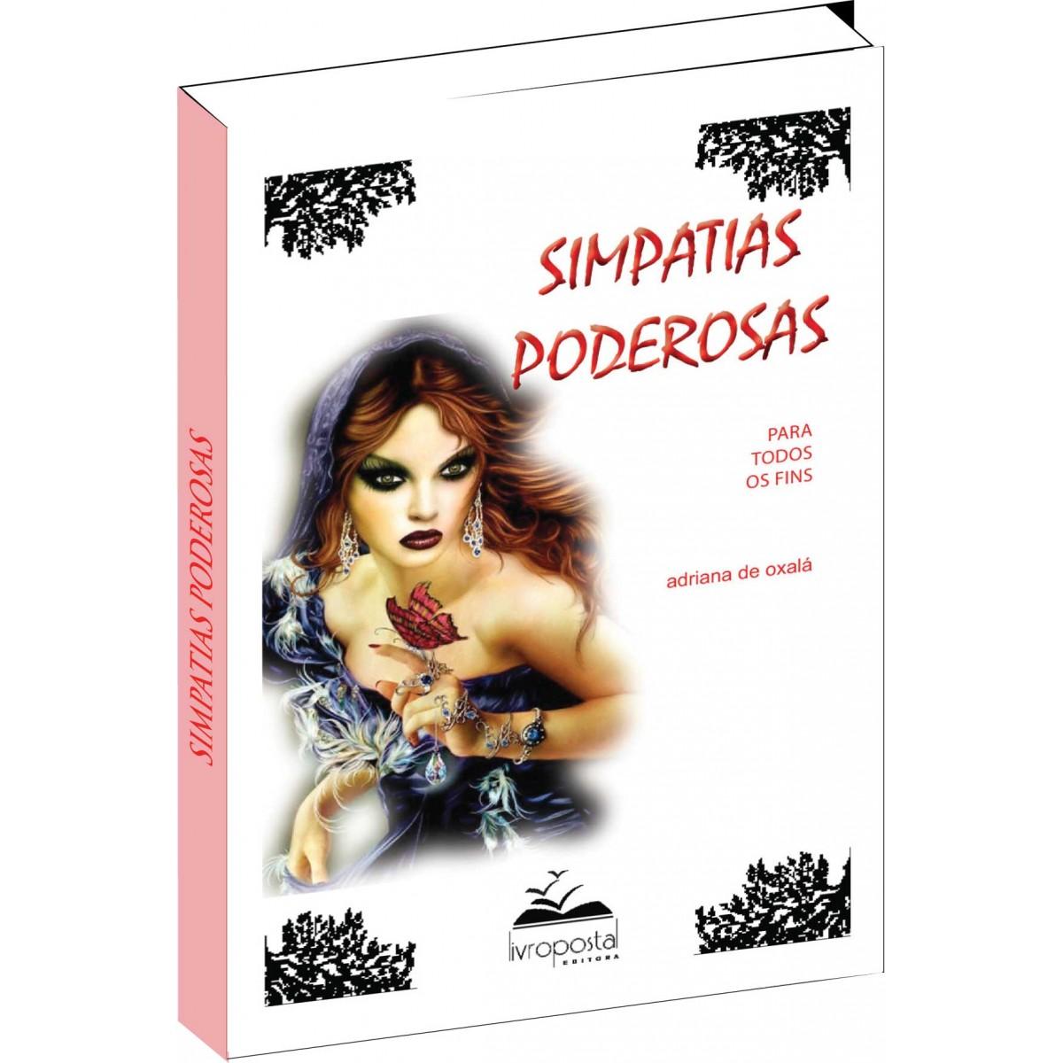 Livro de Simpatias Poderosas  - Livropostal Editora