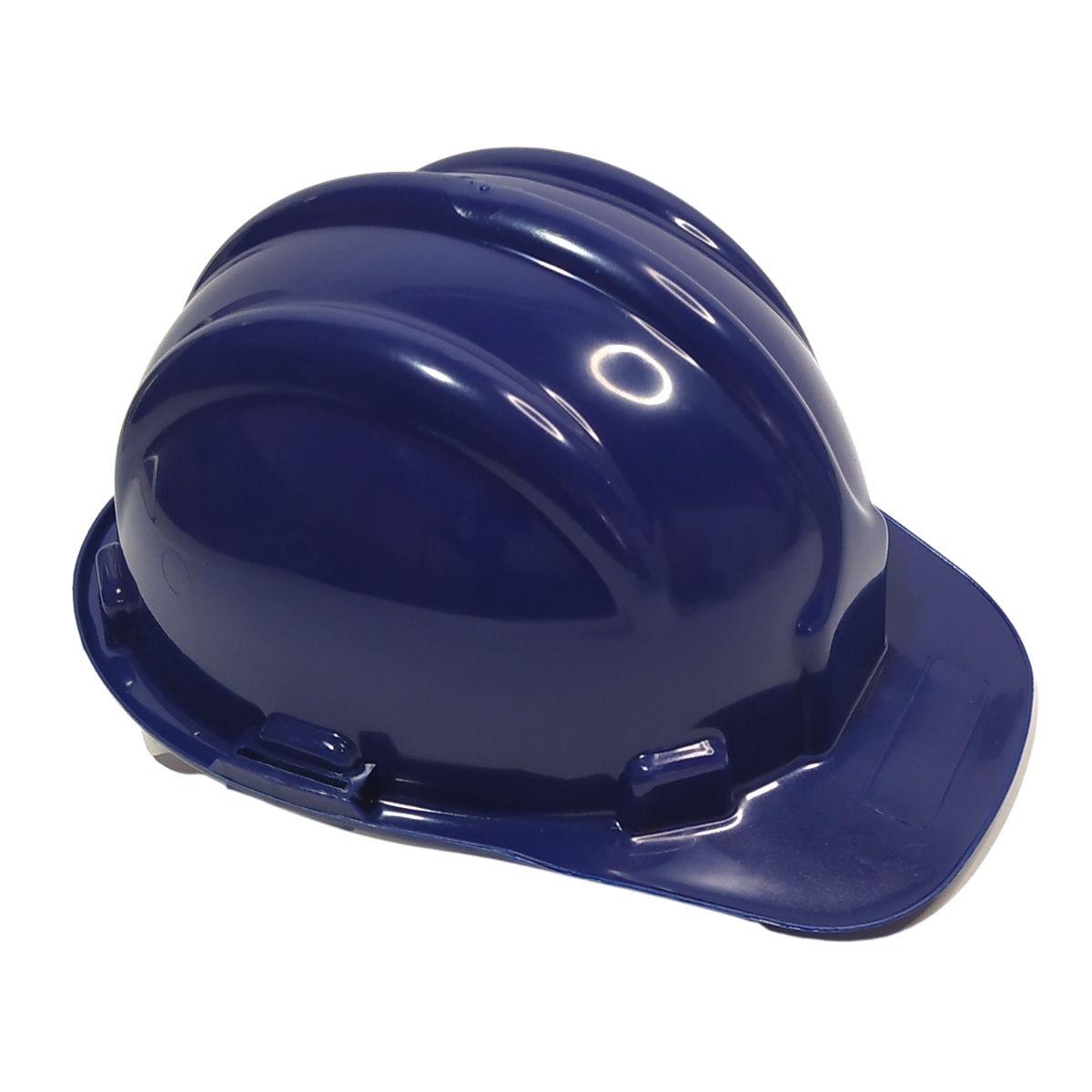 Capacete PLT C/ Selo Azul escurto