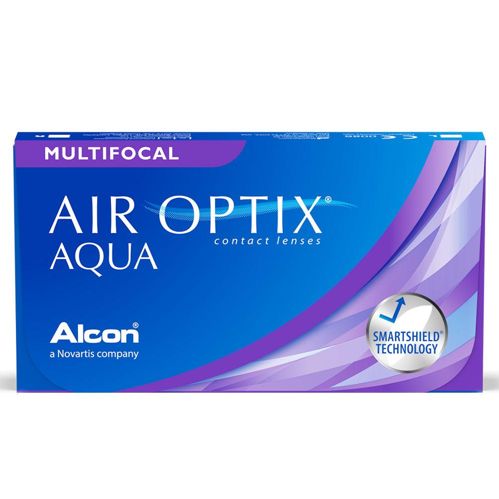 Lentes de contato Air Optix Multifocal