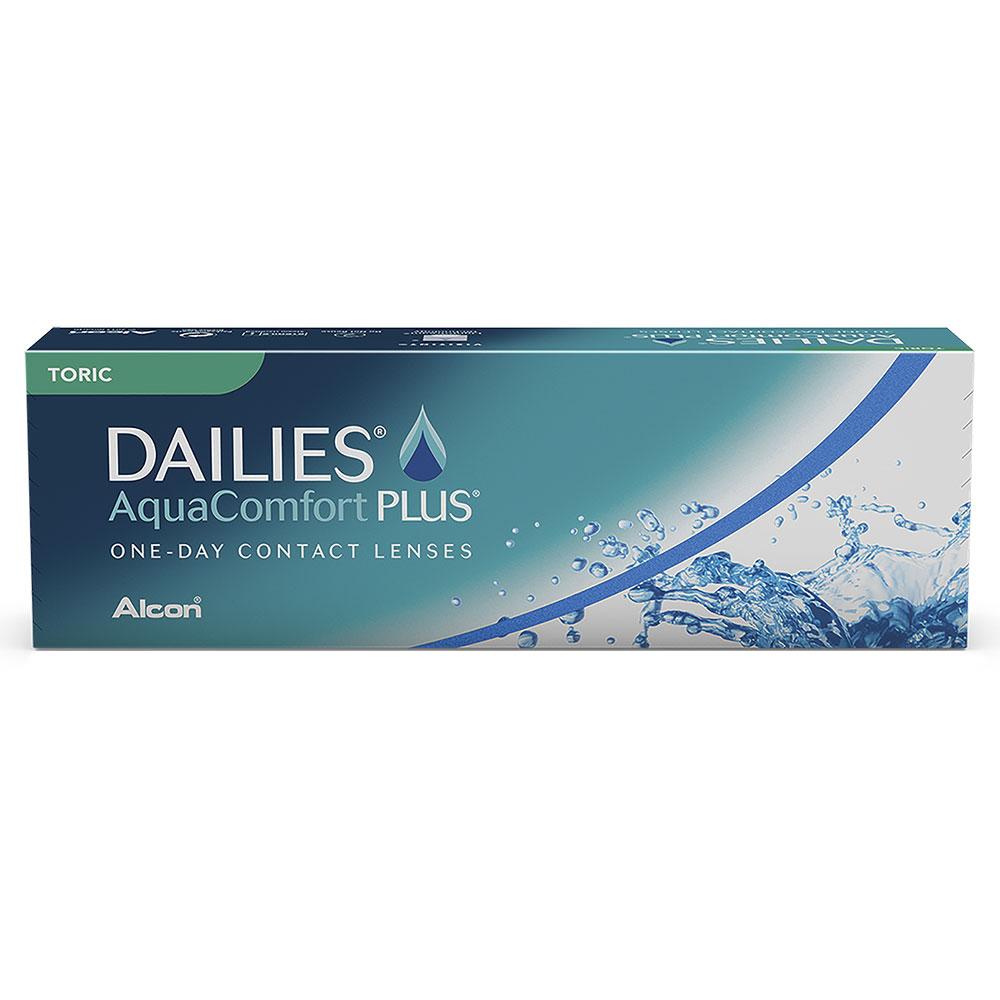 Lentes de Contato Dailies Aqua Comfort Toric
