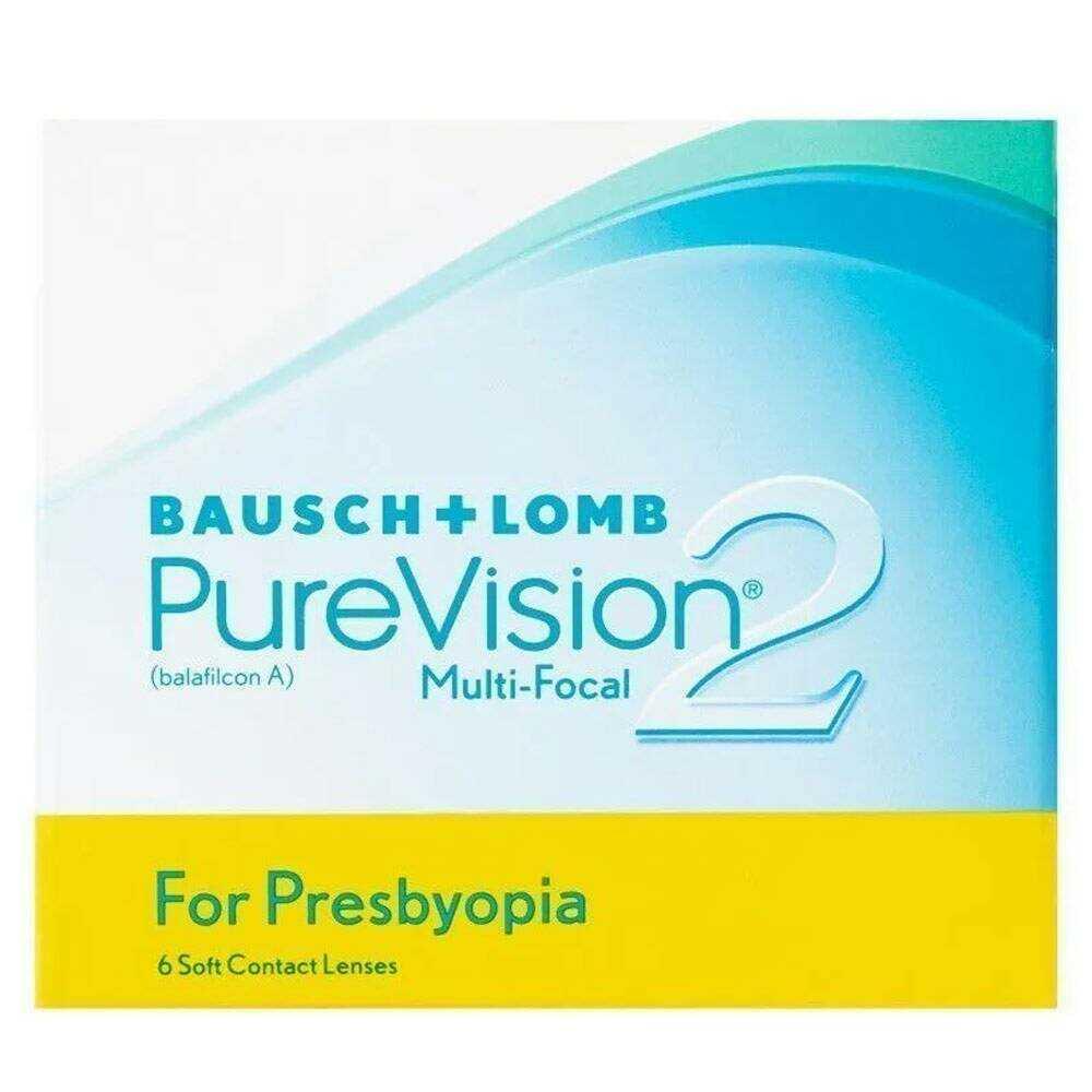 Lentes de Contato Purevision 2 Multifocal