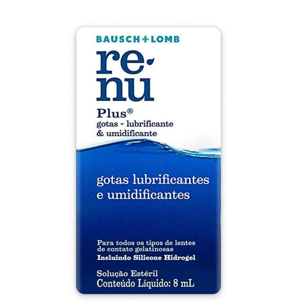 ReNu Plus Gotas Lubrificantes & Umidificantes 8 ml