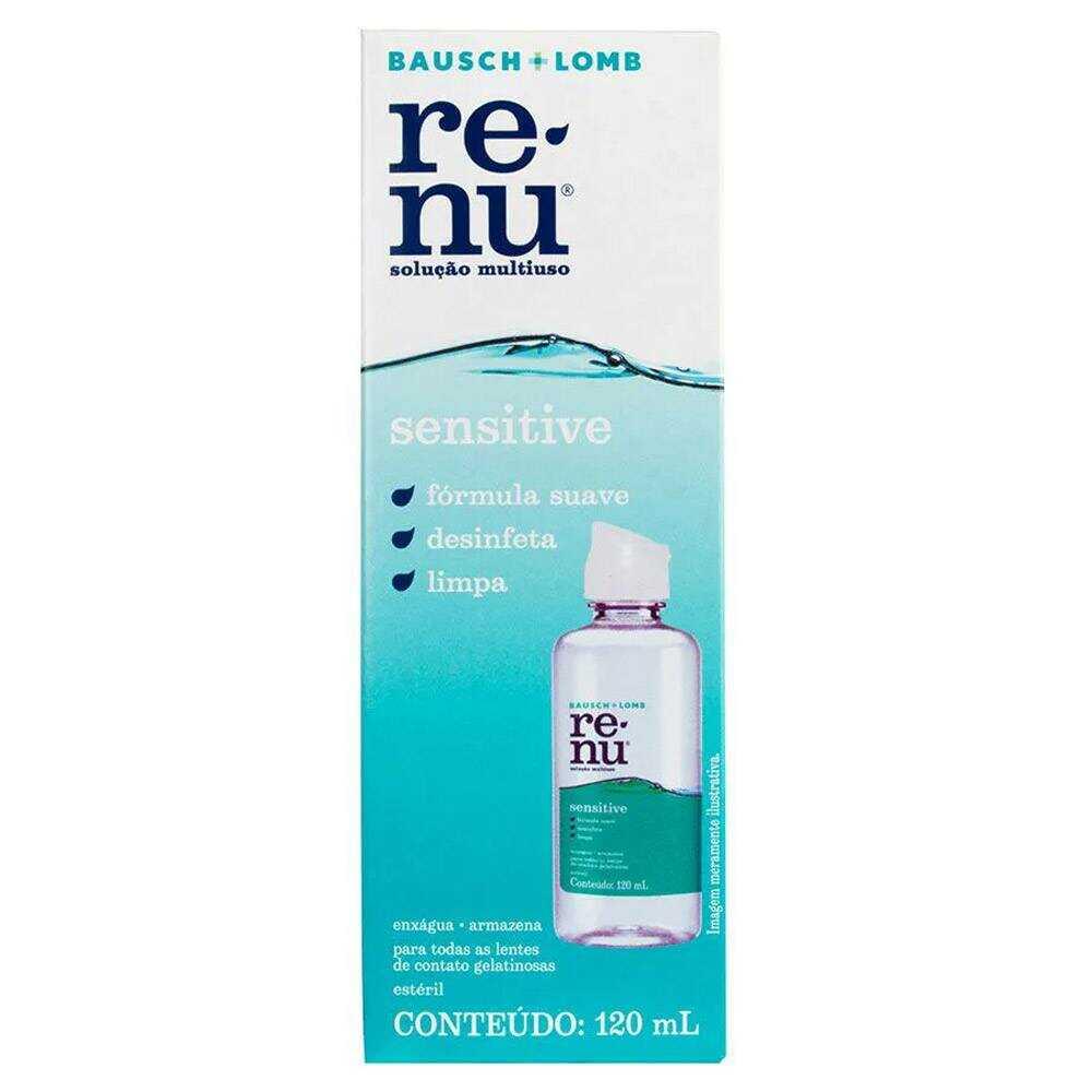 renu sensitive 120 ml
