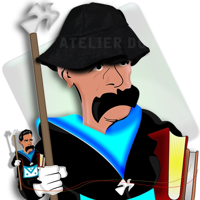 Chapéu De Mestre Maçom