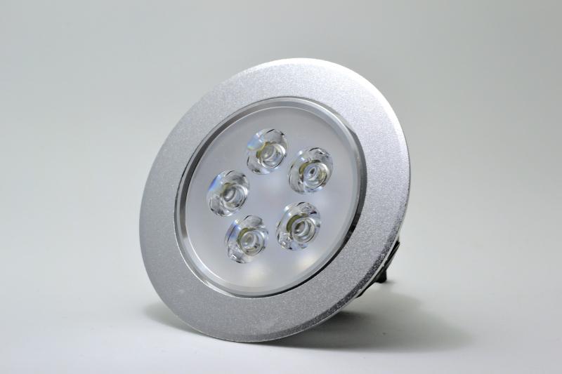 Spot LED Embutir Escovado Redondo - PREÇO IMBATIVEL  - Giamar