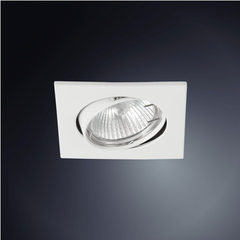 Spot Embutir Dicróica Alumínio Injetado - Quadrado  - Giamar
