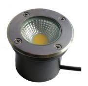Luminaria Embutir no Solo INOX LED 4W