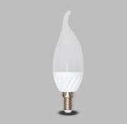 Lâmpada LED Vela 5W Biv Leitosa