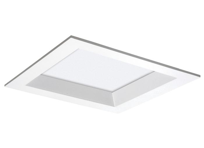 Plafon Embutir VR 18cm p/ 1 lampada - Recuado 51348  - Giamar