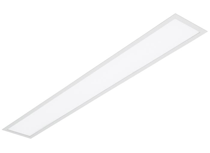 Plafon Embutir VR 1,27m P/ 2 Lampadas 40w  - Giamar