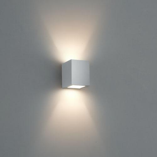 Arandela Bella Luce Quadrada BL8066AV Facho Duplo Aberto  - com LED  - Giamar