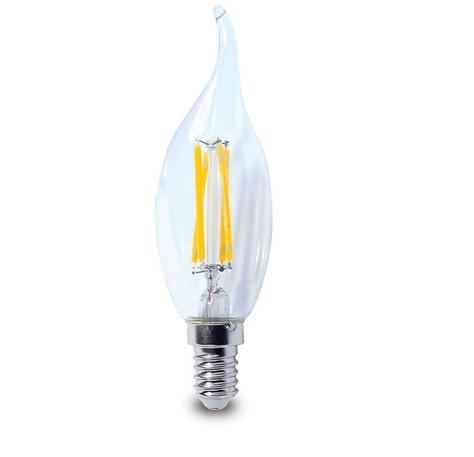 Lâmpada LED Vela 4W Filamento E14 SUPER PREÇO !!!  - Giamar