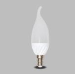 Lâmpada LED Vela 5W Biv Leitosa  - Giamar