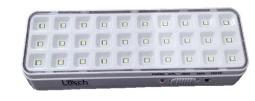 Luminária de Emergência 30 LEDS  - Giamar